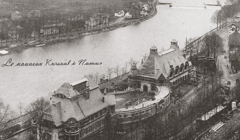 site to be namur kursaal 1914
