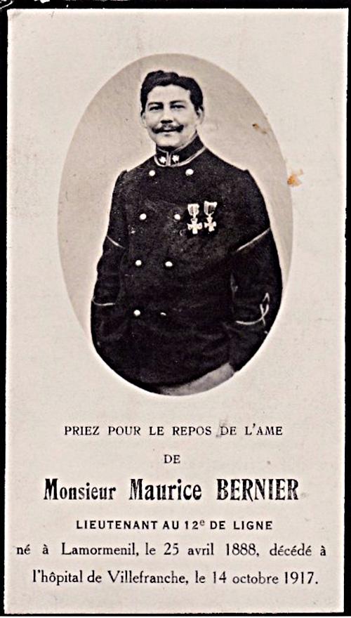 site to fr villefranche bernier 12è ligne dcd1917