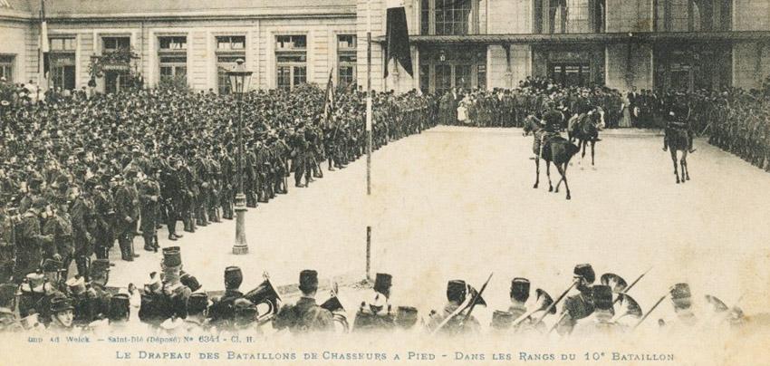 site to fr le bataillon et le drapeau