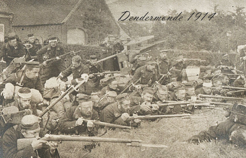 site to be combats dendermonde 1914
