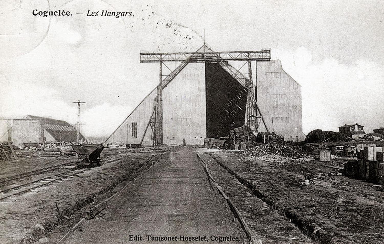 site to de cognelée 2 hangars à zeppelins