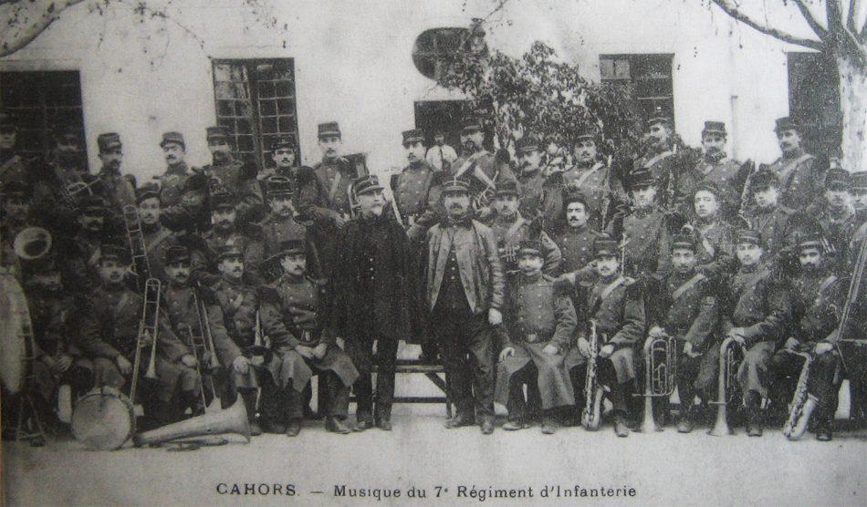 site to fr cahors 7e ri la fanfare du régiment