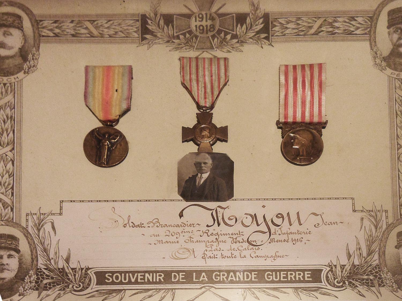 site to fr souvenir de la grande guerre médaille