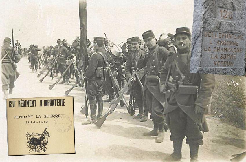120è infanterie 1914