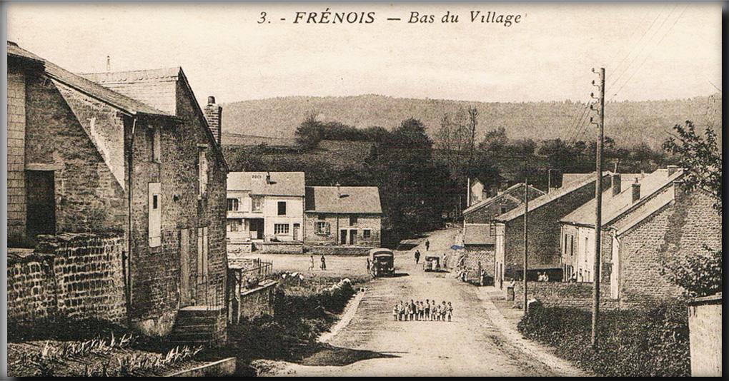 frénois bas du village animé