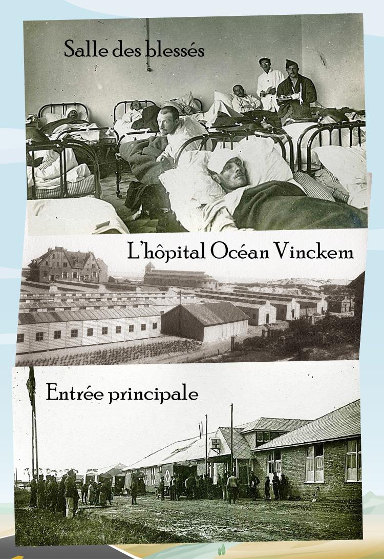 hopital ocean blessés