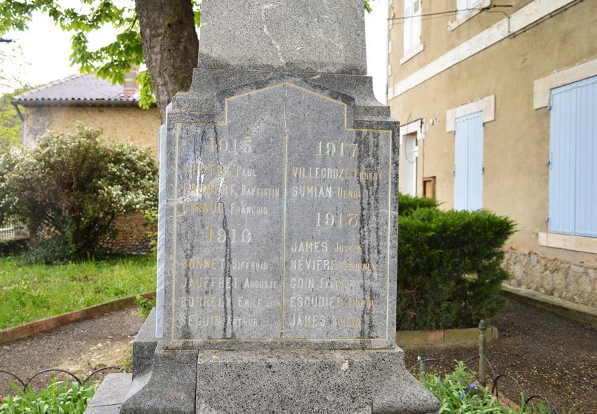 jauffret auguste 1916 sur monument