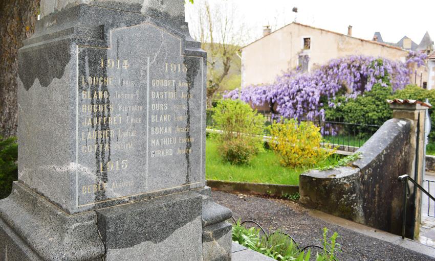 monument emile jauffret 1914