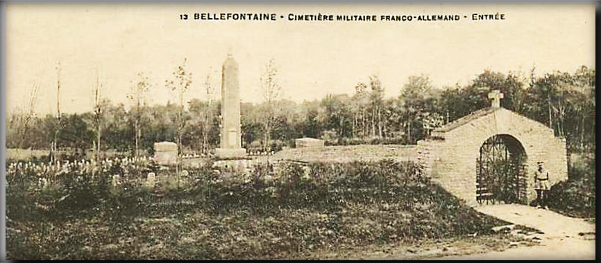 site to be lux bellefontaine cimetière franco-allem