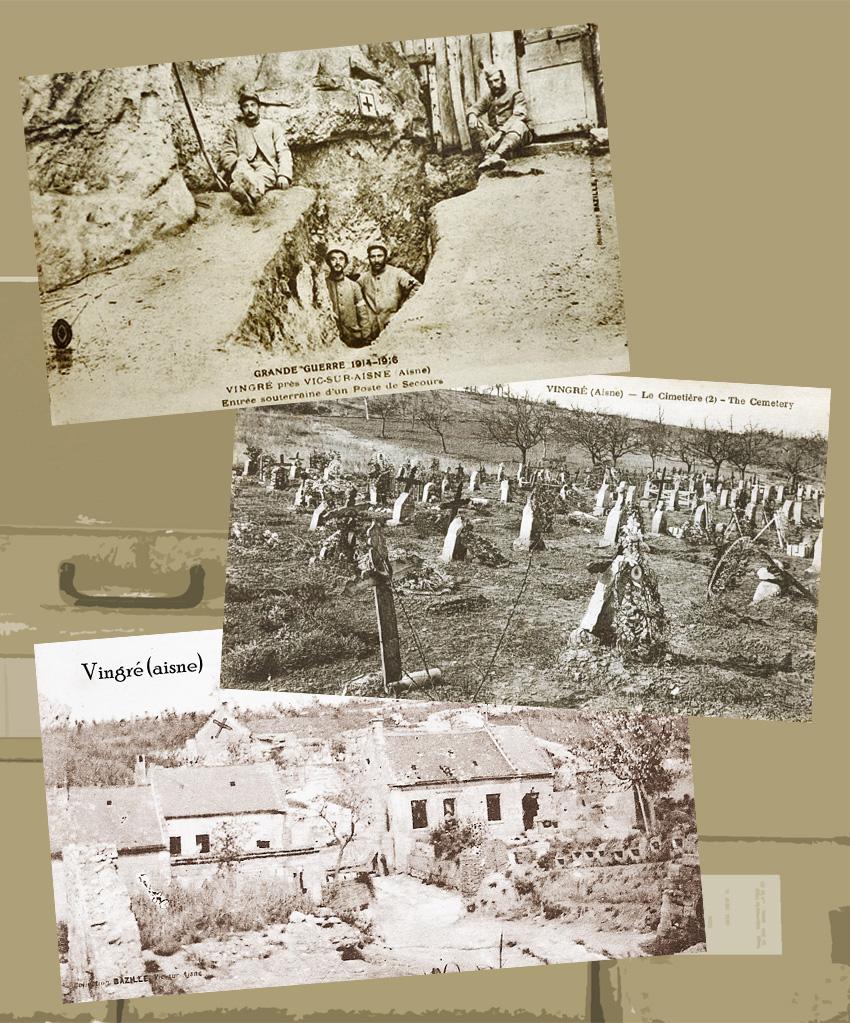 vingré dans l'aisne 1914