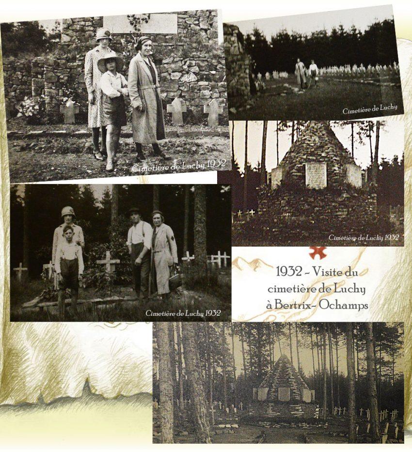 1932 visite de Luchy à btxochamps
