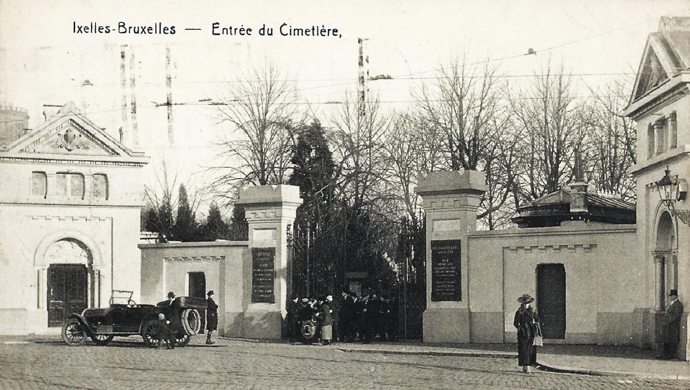 Ixelles elsene entrée cimetière