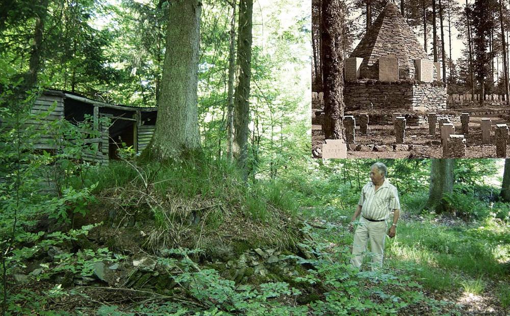 Luchy ruines de l'ancien cimet