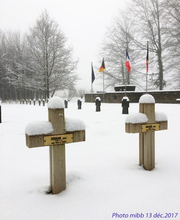 Sépulture Jean Ferrant cimetière de Luchy à Bertrix photo 13122017