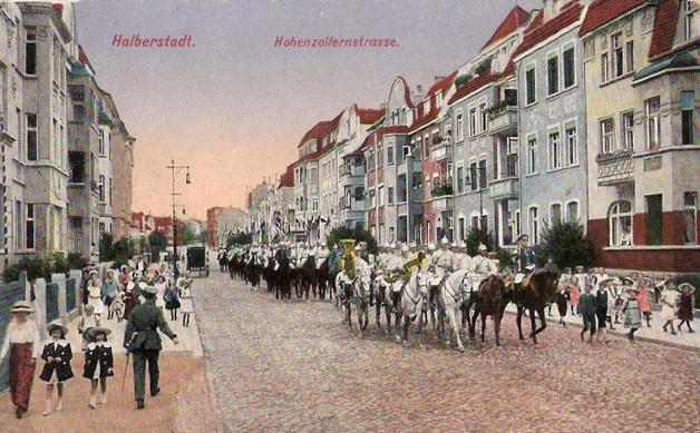 halberstadt-kuerassier-reserve-ersatz-eskadron-i-d-hohenzollernstrasse-14-11-1915-gelaufen