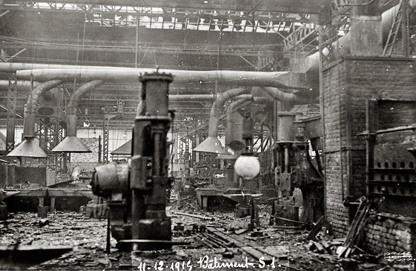 usine explosion 11 déc 1915