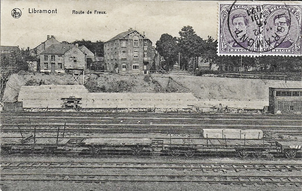 1921 libramont-travaux-en-vue-de-la-reconstruction-du-pont-metallique