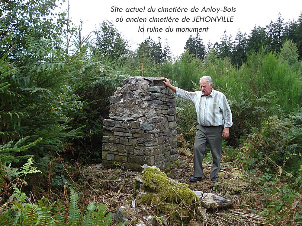 ruine d'Anloy bois