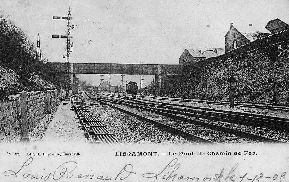 libramont le pont en 1908