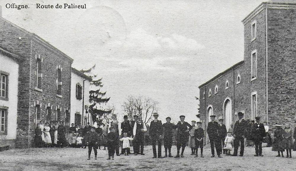 offagne 1911 rte paliseul animée