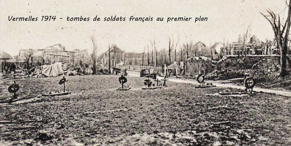 vermelles 1914 tbes sdts franc