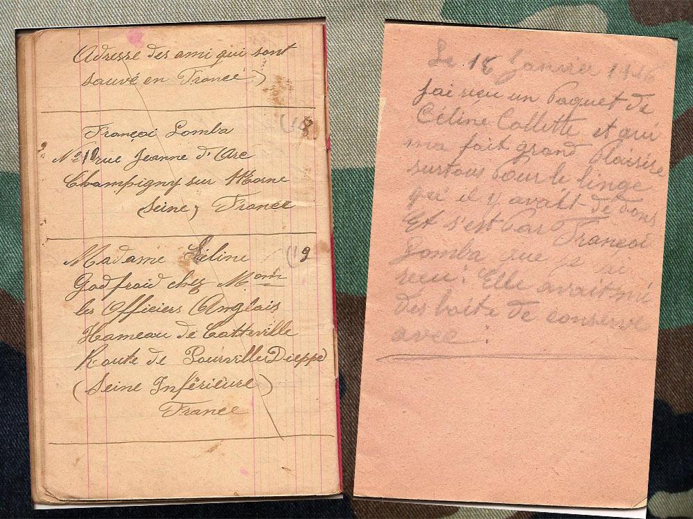 15 janv 1916 et ami francais