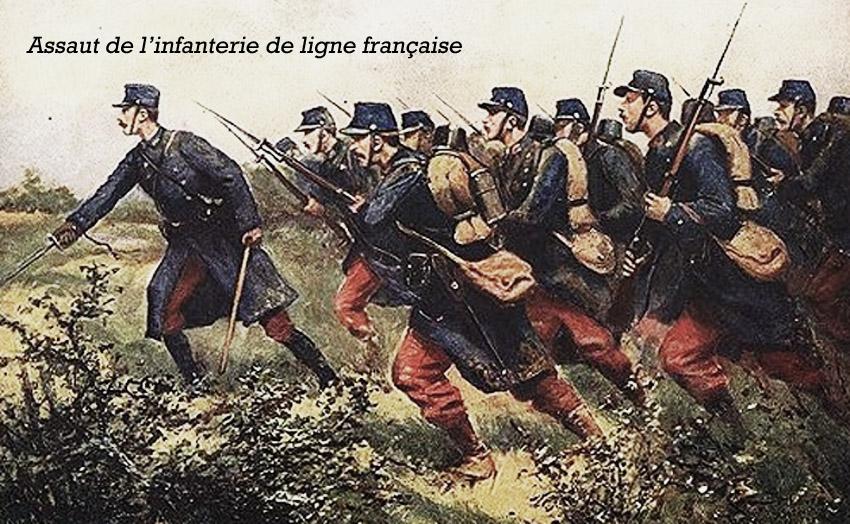 infanterie assaut