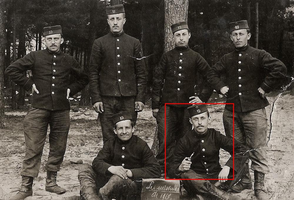 les misérables 1913 13èlig Clément Wilmotte encadré