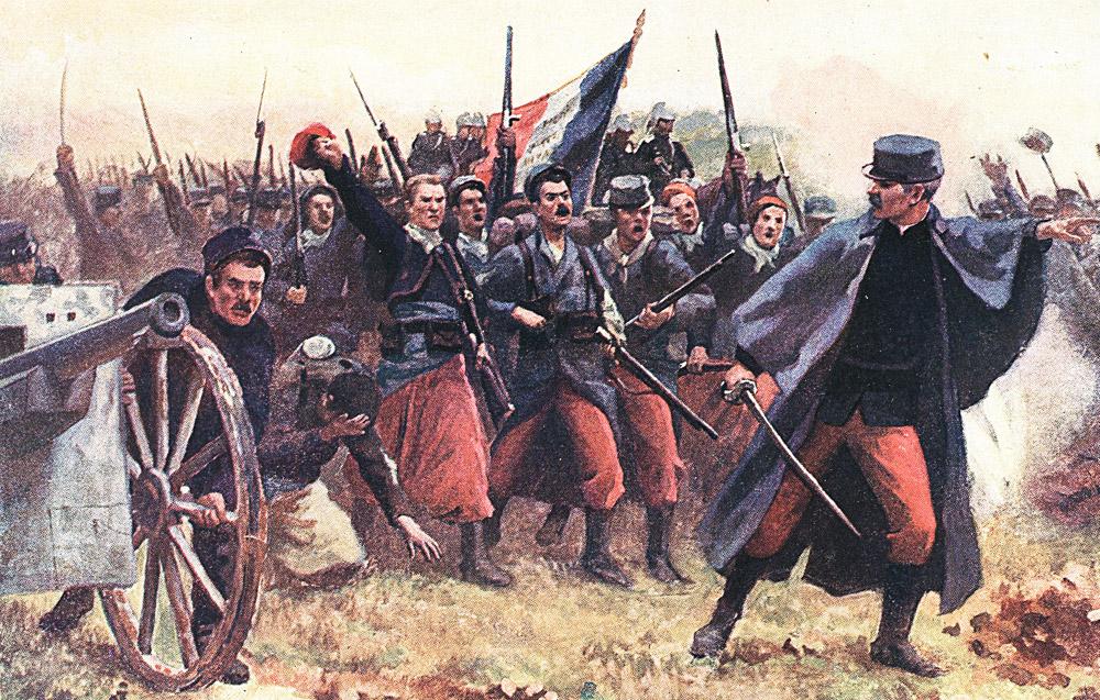 les poilus de 1914 face aux barbares par G Charpentier Bosio