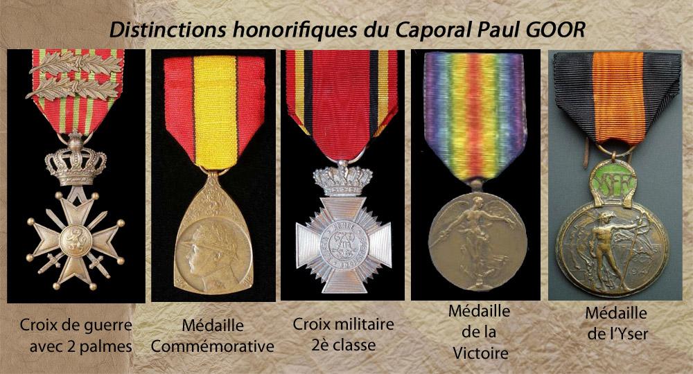 medailles de paul goor