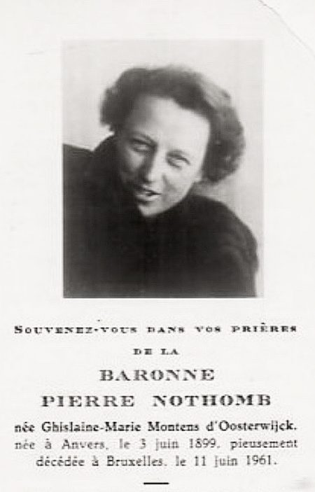 baronne oierre nothomb