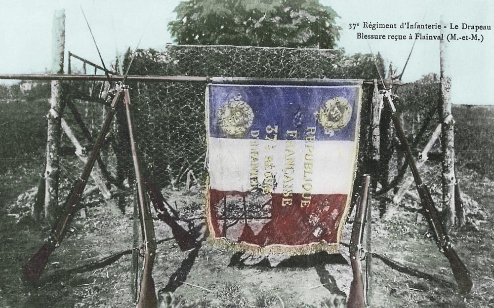 drapeau francais dechirée 37è colormibb