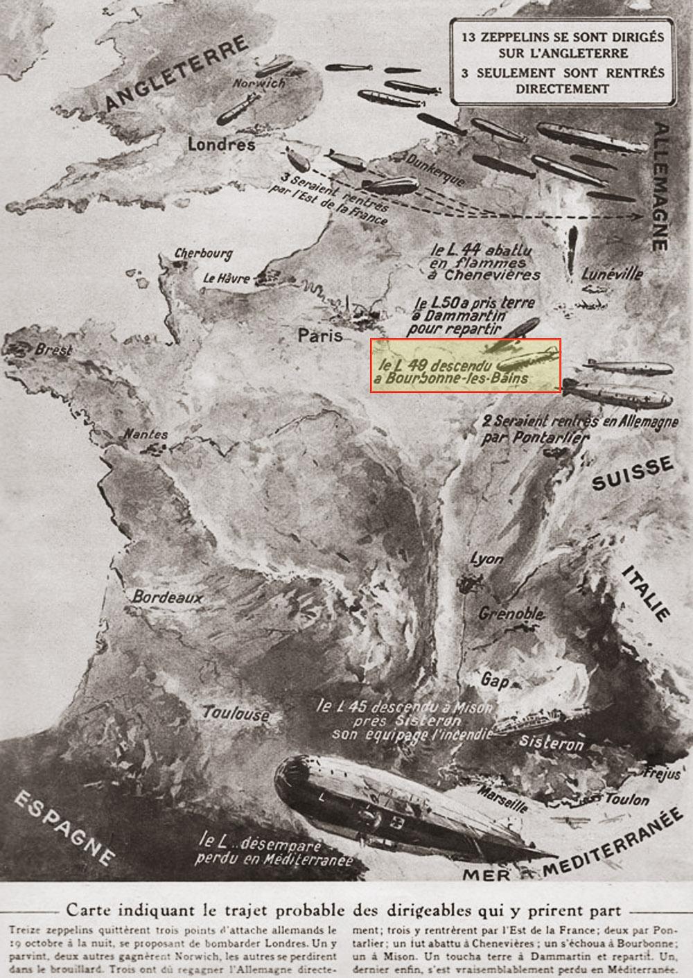 cate de l'offensive des 13 zpellepins 20 10 1917