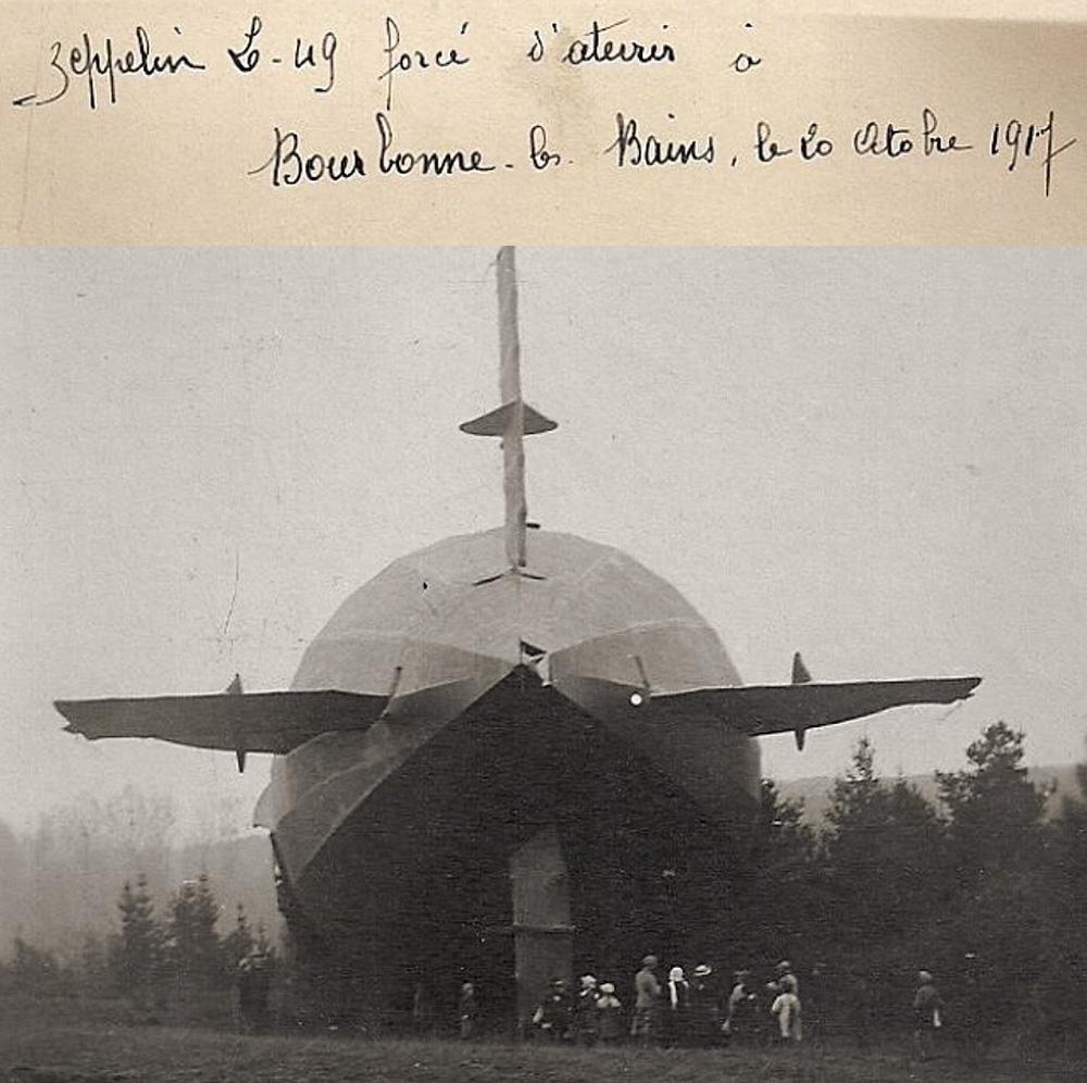 gouvernes du zeppelin L49