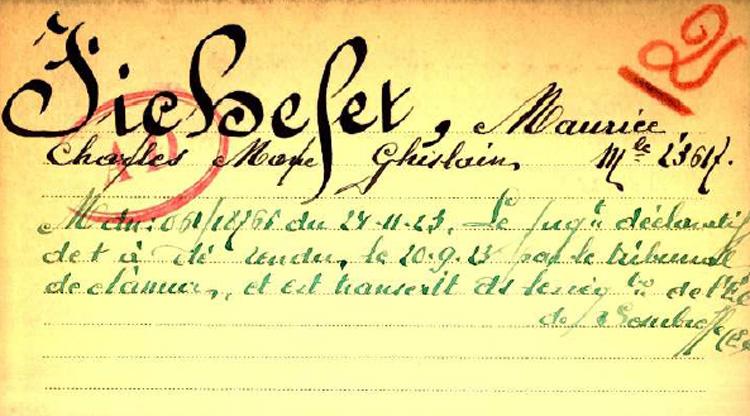 belg war register page 3
