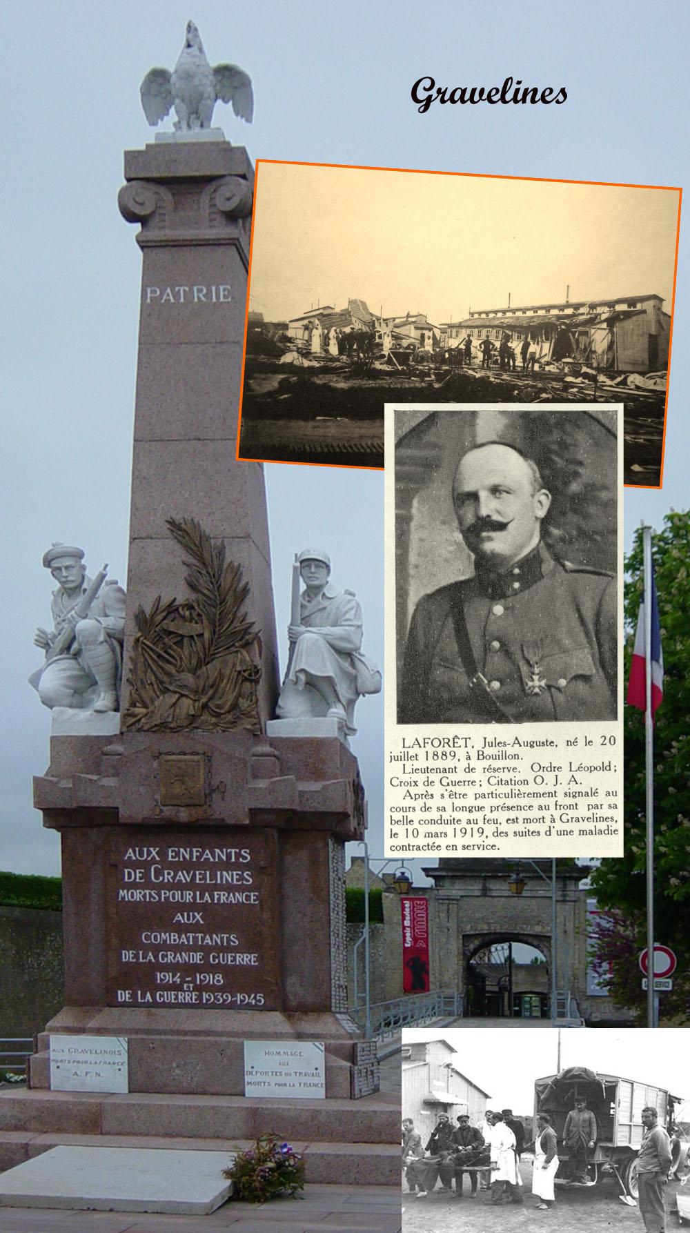 GRAVELINES MONUMENT baraquem