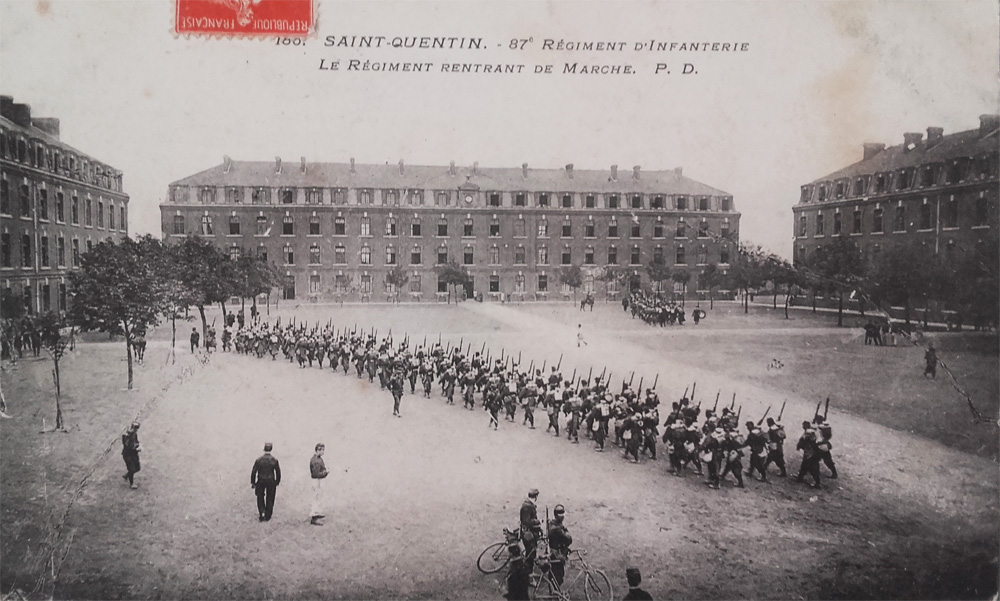 sophie 01 87eme regiment d infanterie Recto copie