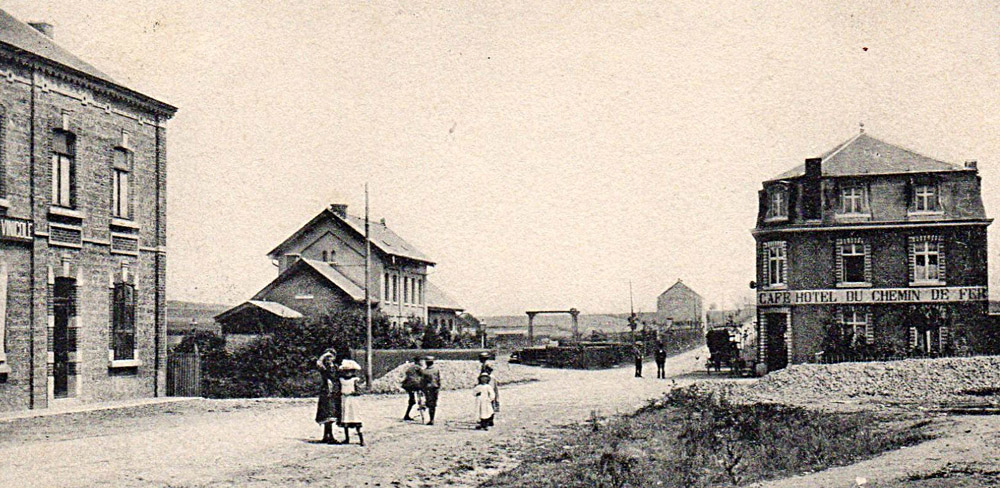 wellin gare 1904 animée