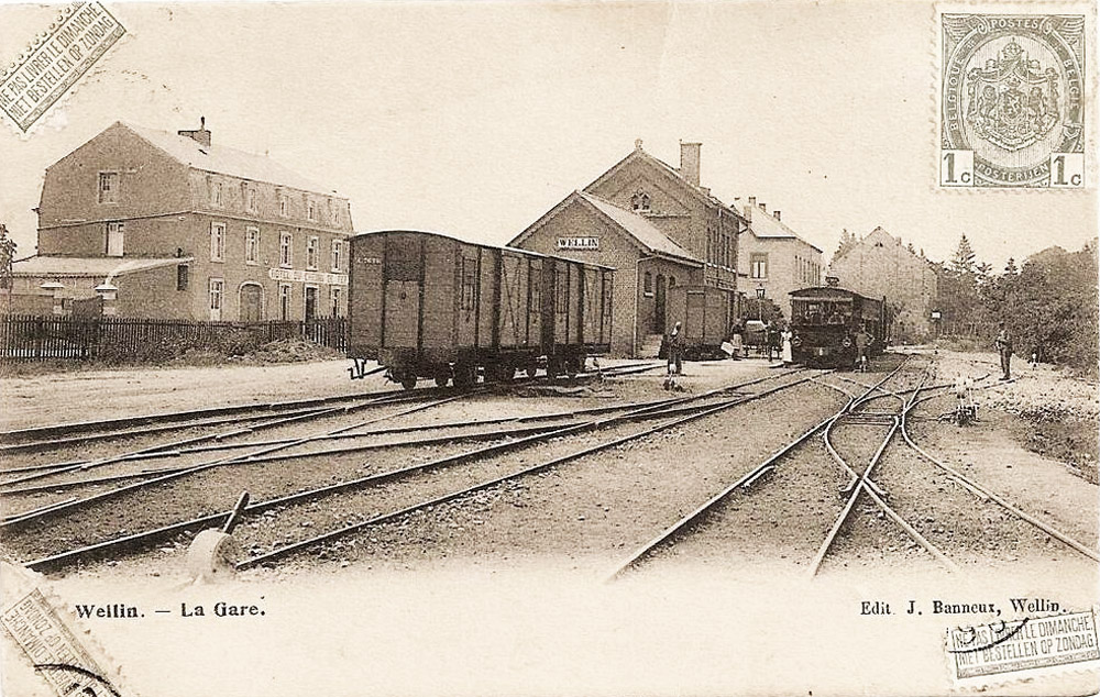 wellin gare train wagons