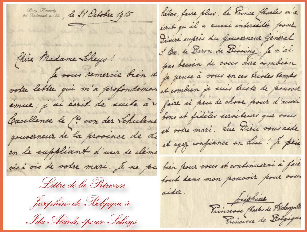 21 oct 15 lettre à Ida Alardo
