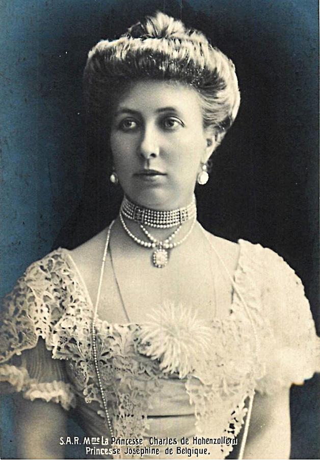 portrait sar josephine soeur roi albert 1er