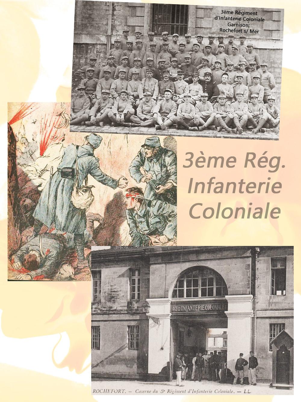 Rochefort s mer 3è coloniale