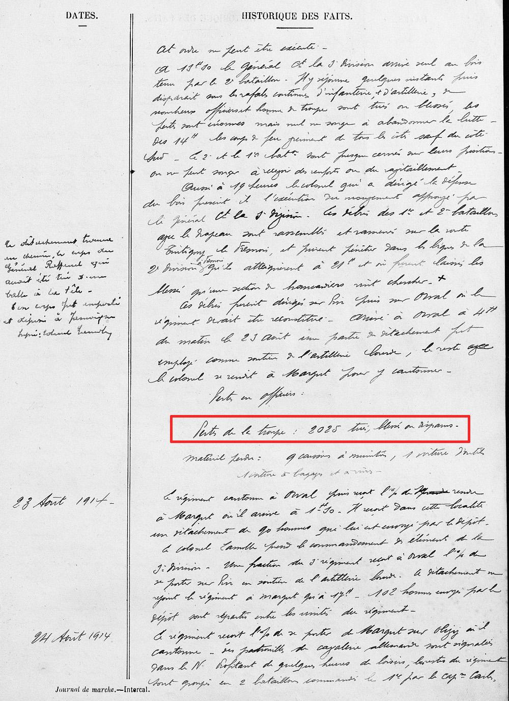 extrait jmo 18 au 23 aout 1914 page 3