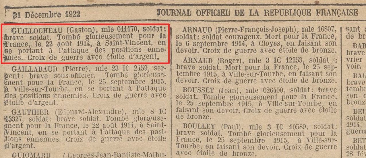 journal republique 31 dec 1922