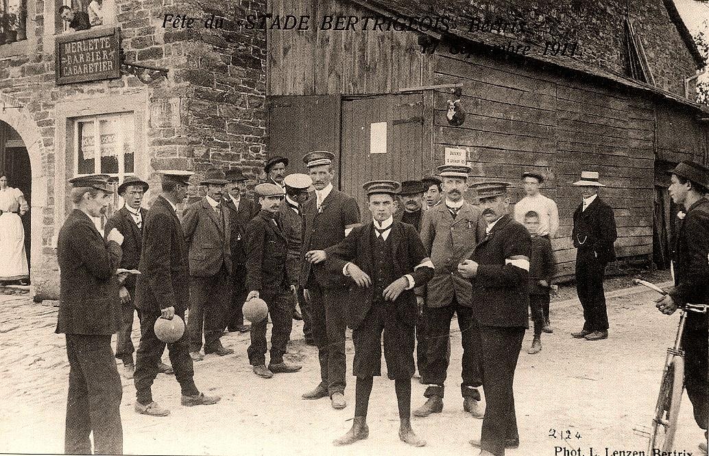 asu 088 fête du stade jeu de boule 17 sept 1911