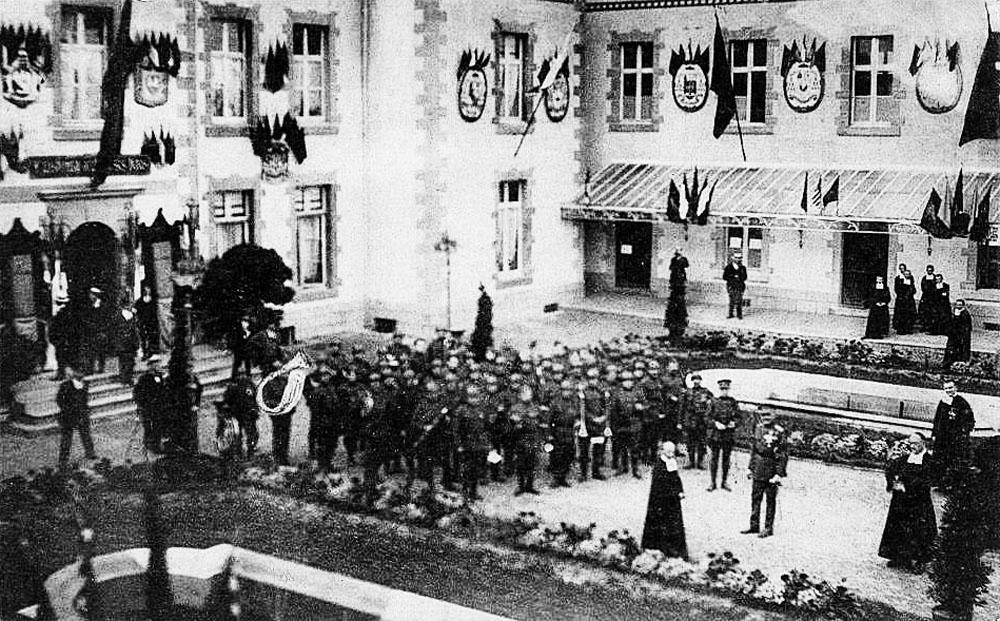 asu carlsbourg inauguration des victimes de la guerre