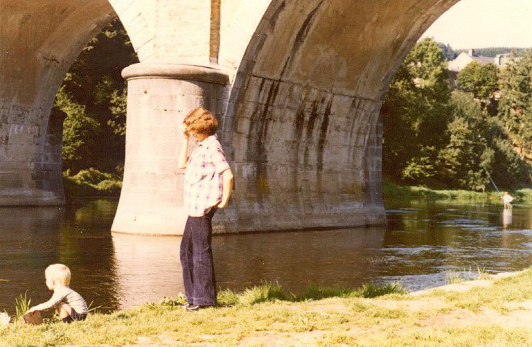 1981 sous le pont de Dohan