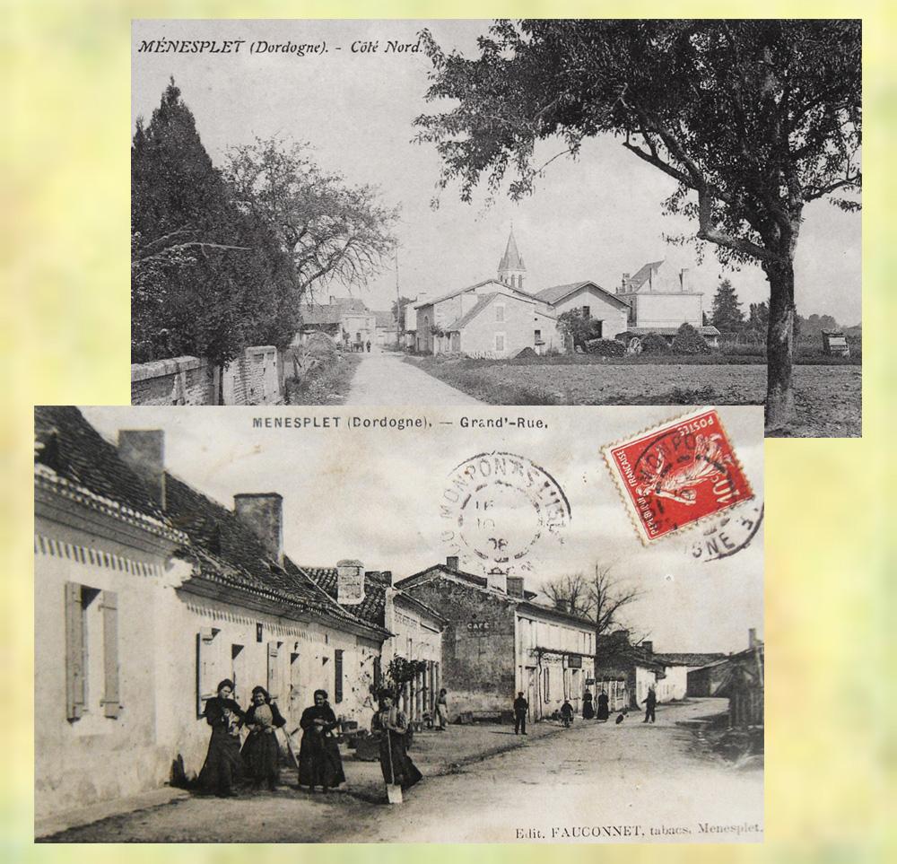 asu Menesplet le village