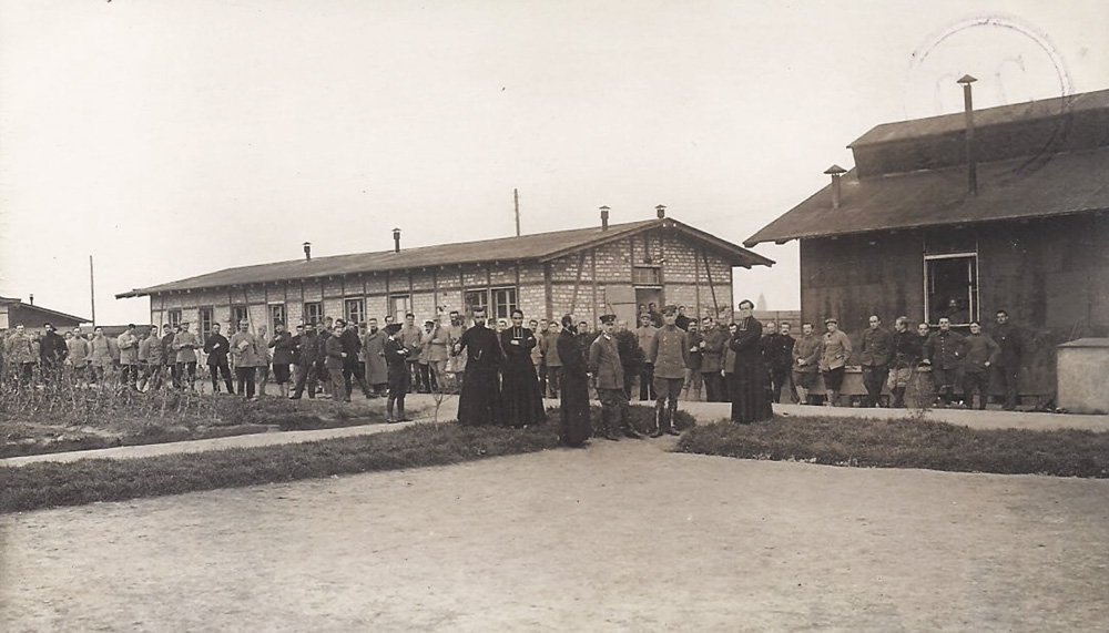 camp-friedrichsfeld avec des aumoniers