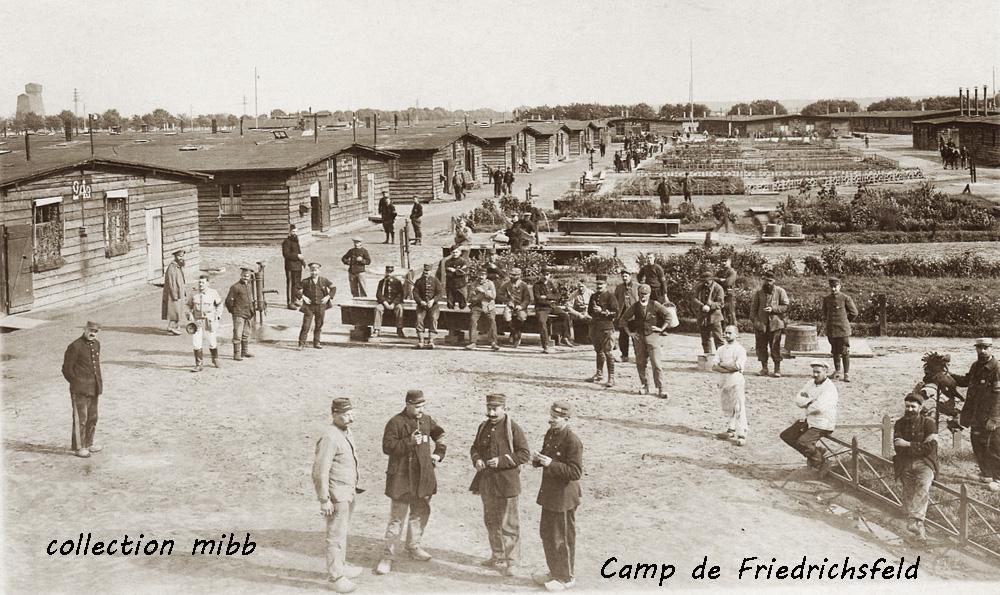 centre du camp de friedrichsfeld